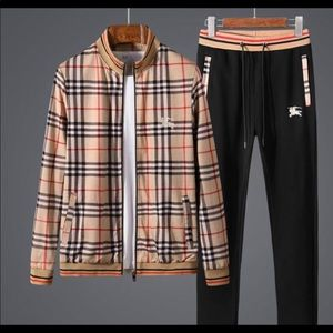 Other - Burberry New Track Suit